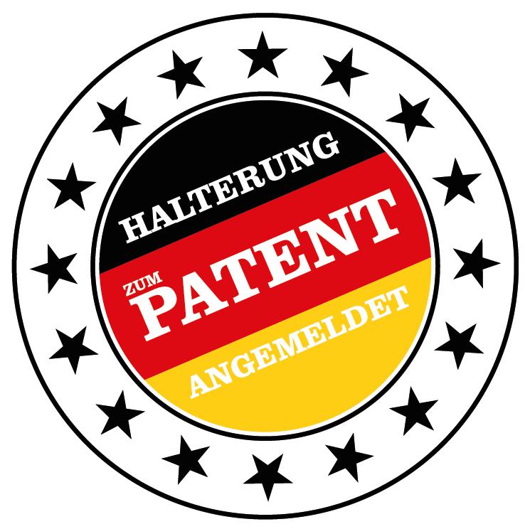 Halterung zum Patent angemeldet