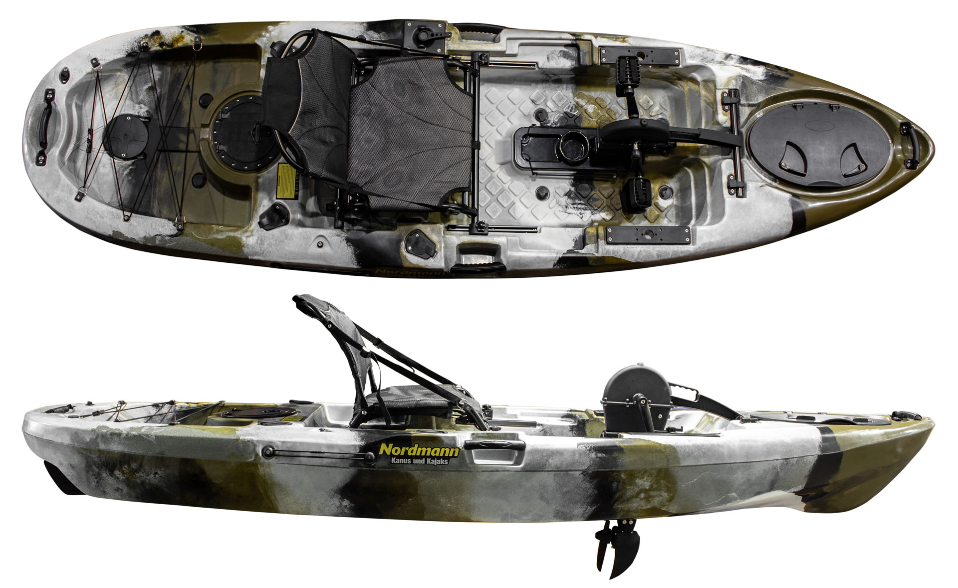 Kajak Ruder Zubehör Wasserfahrzeuge Kajak Angeln Boot Ruder Schwarz 18.5 inch DE