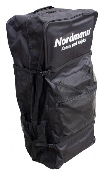 Nordmann® Rucksack-Transporttasche mit Rollen für Drop Stitch Kajaks und Stand Up Paddle Boards SUP