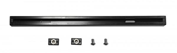 Nordmann® Aluminium C Nut Schiene für Kajaks inkl. Nutsteine (M6) | 32 cm