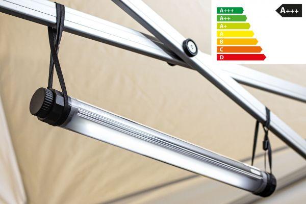 Mobile LED-Lampe 4,5 W, 100% wasserdicht, kabellos | Beleuchtung für Zelte, Wasserwandern, Angeln