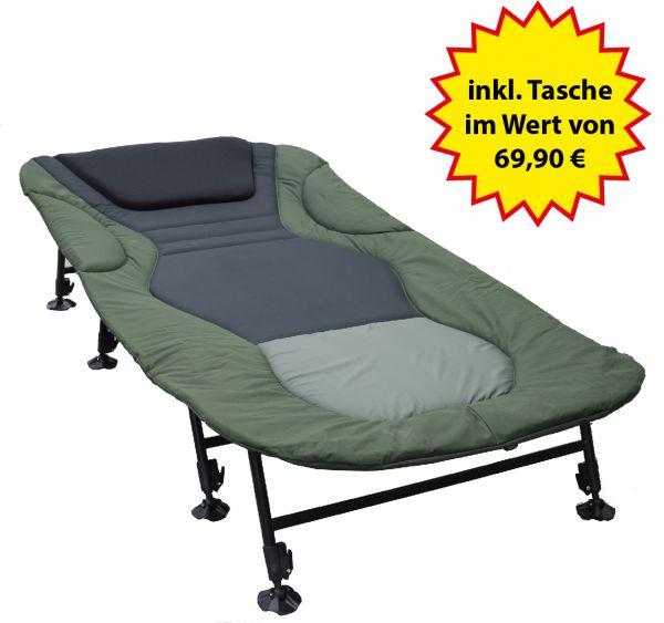Nordmann® Premium 8 Bein XXL Karpfenliege NL205