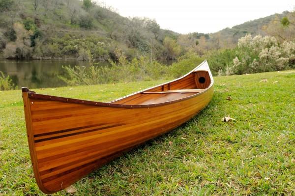 Red-Oak Echtholz Zweier Kanu: Typ Canadian 16