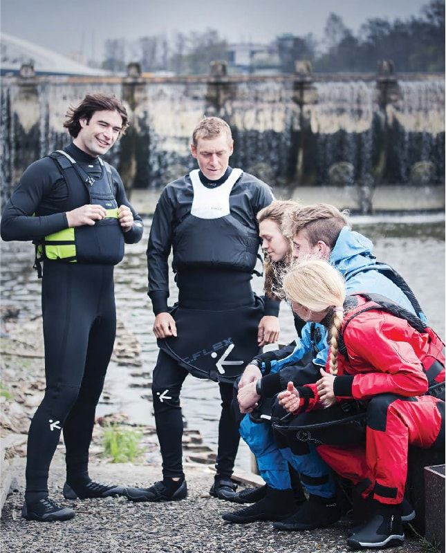 Wassersport Bekleidung