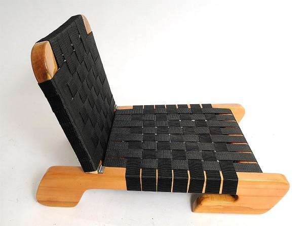 Nordmann® Kanu-Sitz mit Rückenlehne, Korpus aus Holz, de Luxe Edition